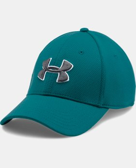 Men's UA Blitzing II Stretch Fit Cap  3 Colors $25.99