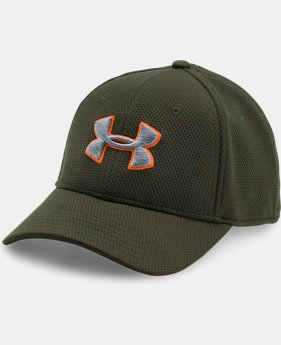 Best Seller Men's UA Blitzing II Stretch Fit Cap  4 Colors $21.99
