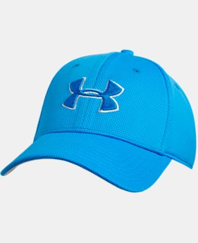 Men's UA Blitzing II Stretch Fit Cap LIMITED TIME: FREE U.S. SHIPPING 2 Colors $12.74 to $16.99