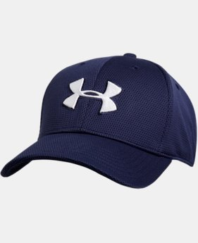 Men's UA Blitzing II Stretch Fit Cap  1  Color Available $13.99 to $16.99