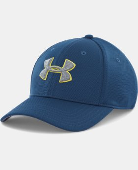 Men's UA Blitzing II Stretch Fit Cap  1 Color $13.99 to $16.99