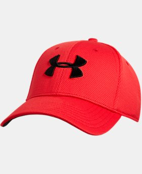 Best Seller  Men's UA Blitzing II Stretch Fit Cap  1  Color Available $25.99