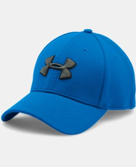 Men's UA Blitzing II Stretch Fit Cap  4 Colors $21.99