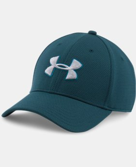 Best Seller Men's UA Blitzing II Stretch Fit Cap  1  Color Available $16.49 to $16.99