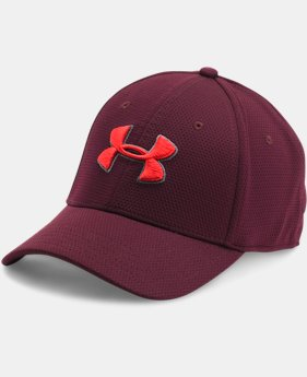 Best Seller Men's UA Blitzing II Stretch Fit Cap  1  Color Available $16.49