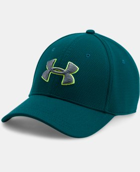 Men's UA Blitzing II Stretch Fit Cap  17 Colors $21.99