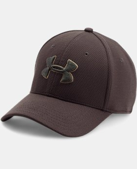 Men's UA Blitzing II Stretch Fit Cap  8 Colors $21.99