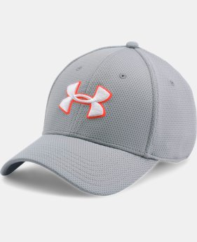 Men's UA Blitzing II Stretch Fit Cap  4 Colors $25.99