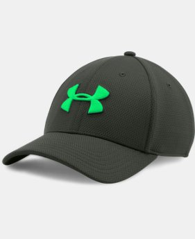 Men's UA Blitzing II Stretch Fit Cap LIMITED TIME: FREE U.S. SHIPPING 1 Color $12.74 to $16.99