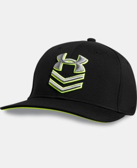 Men's UA Undeniable Stretch Fit Cap LIMITED TIME: FREE U.S. SHIPPING 1 Color $12.74 to $23.99