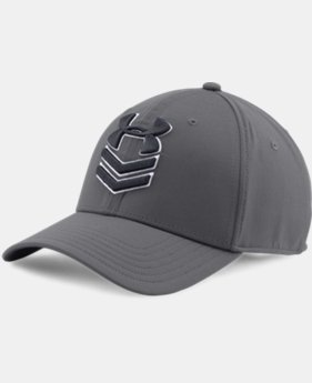 New Arrival Men's UA Undeniable Stretch Fit Cap  1 Color $27.99
