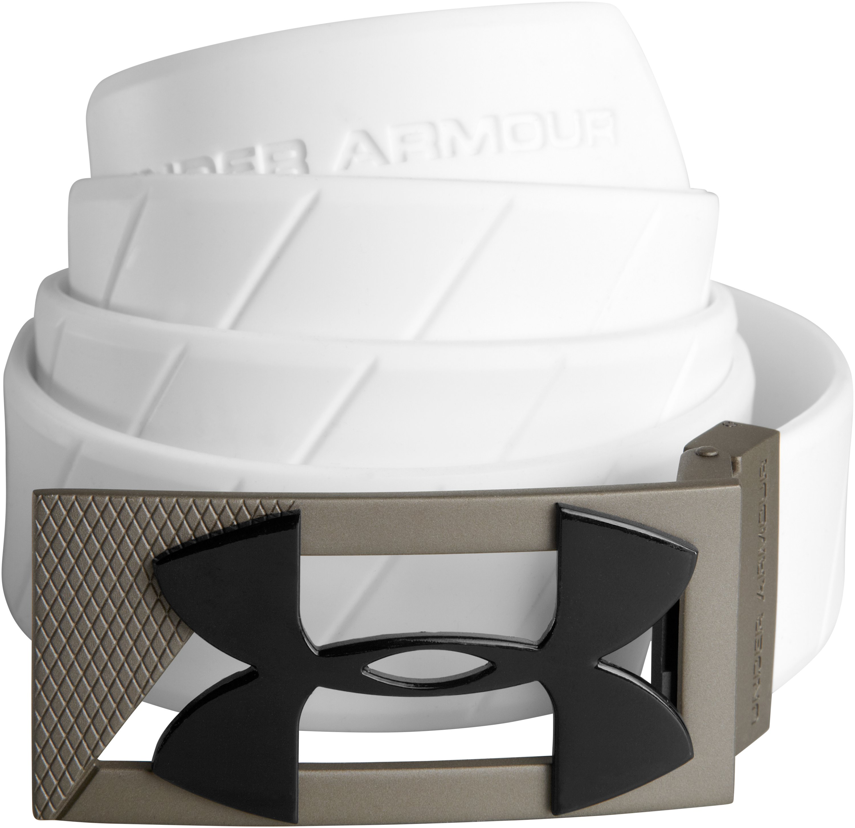UA Silicone Belt, White, zoomed image