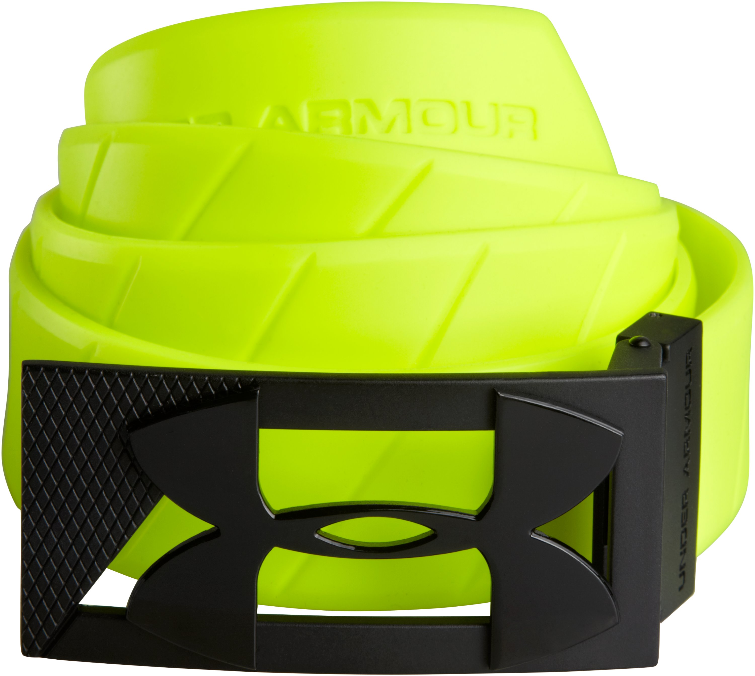 UA Silicone Belt, High-Vis Yellow,