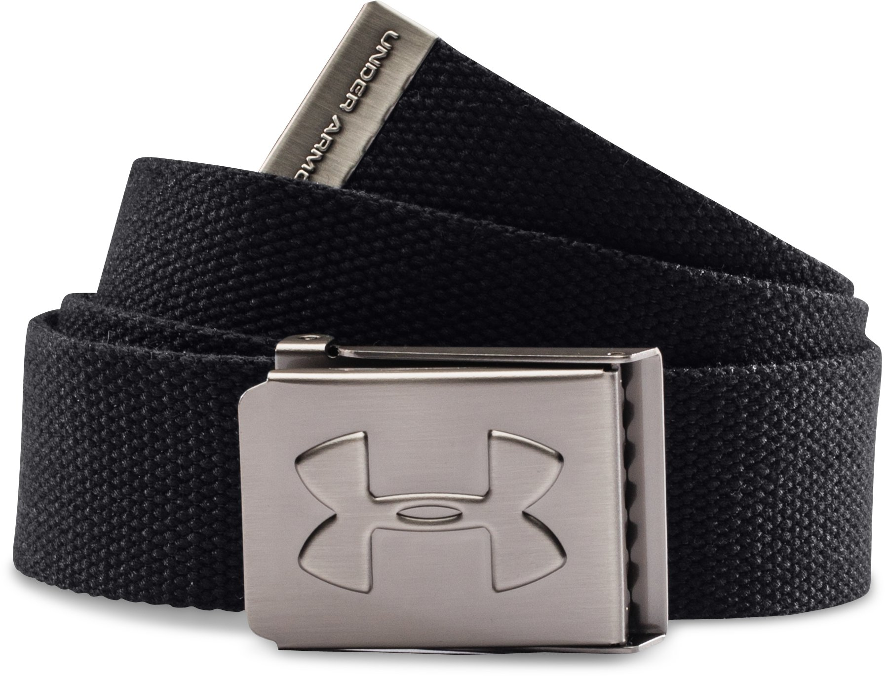 cool leather belts Boys' UA Webbed Belt <strong>Awesome</strong> belt...can get the perfect tightness.