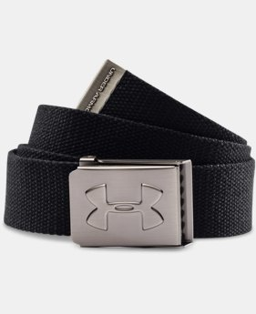 Best Seller Boys' UA Webbed Belt  1 Color $17.99
