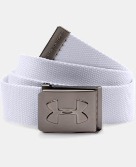Boys' UA Webbed Belt LIMITED TIME: FREE SHIPPING 2 Colors $20.99