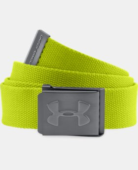Boys' UA Webbed Belt LIMITED TIME: FREE U.S. SHIPPING 1 Color $10.49