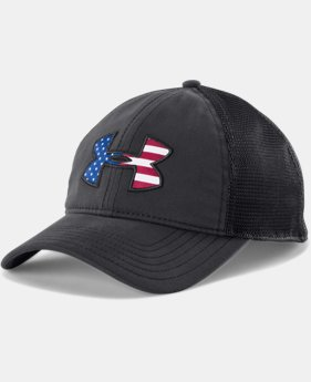 Men's UA Big Flag Logo Mesh Cap  1 Color $24.99