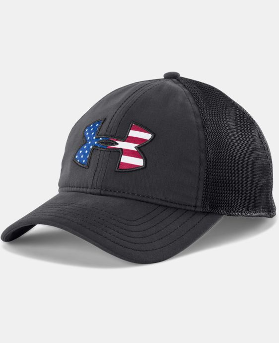 Men's UA Big Flag Logo Mesh Cap   $29.99