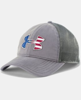 Men's UA Big Flag Logo Mesh Cap