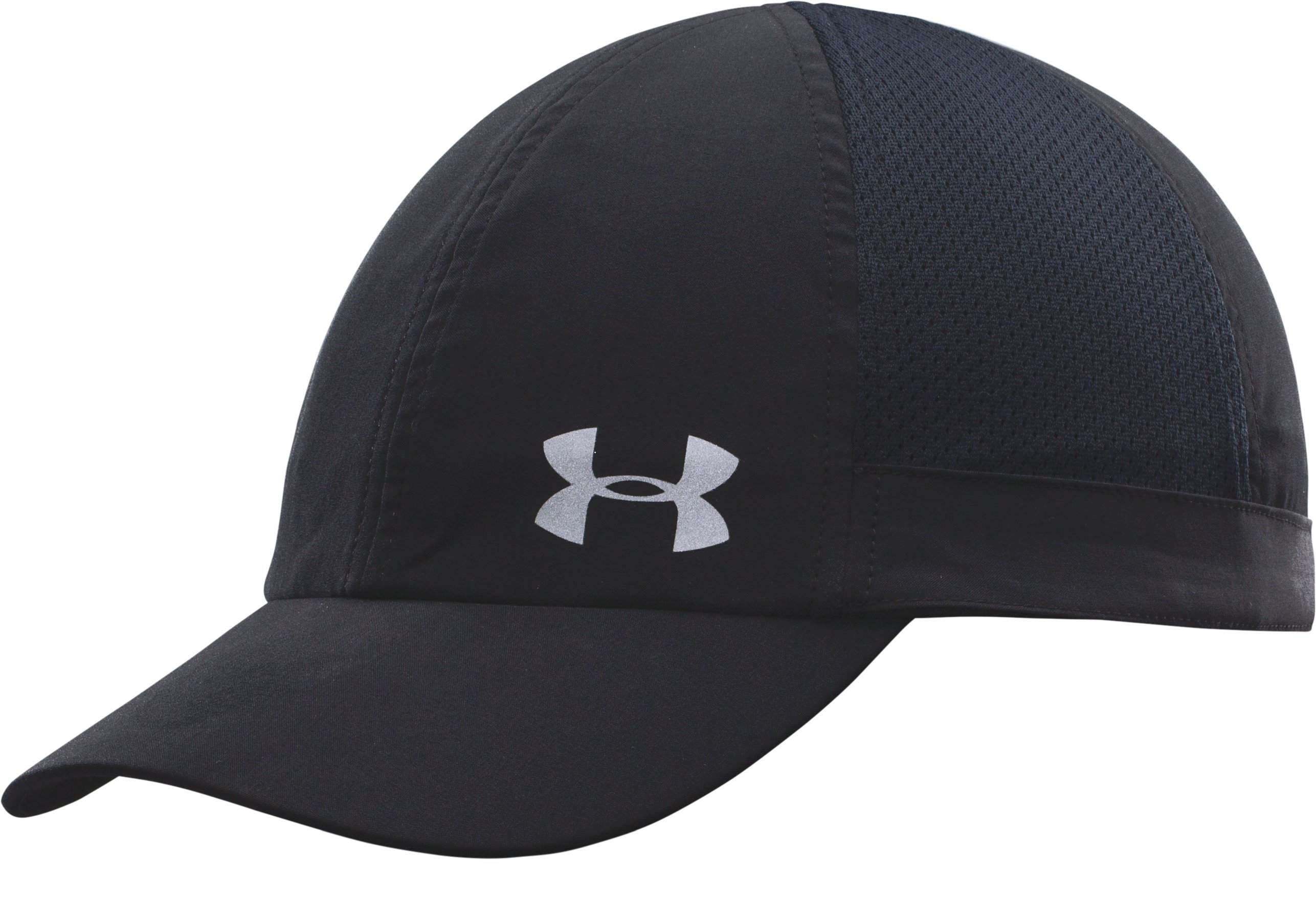 Women's UA Fly Fast Cap, Black , zoomed image