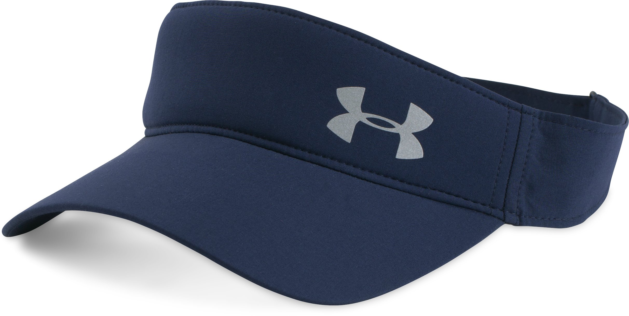 Women's UA Fly Fast Visor, Midnight Navy, zoomed image