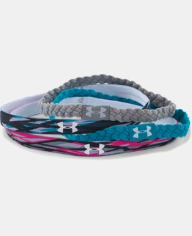 Women's UA Graphic Braided Headband - 4 Pack