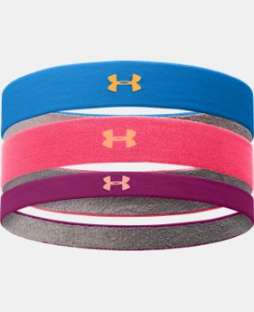 Women's UA ArmourGrip™ Multipack Headband
