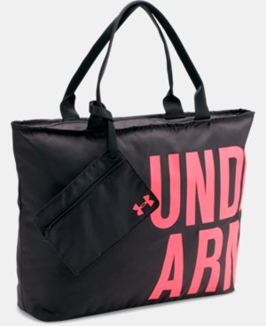 UA Big Wordmark Tote LIMITED TIME: FREE U.S. SHIPPING 4 Colors $14.99 to $22.99