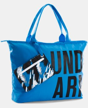 UA Big Wordmark Tote  1 Color $34.99