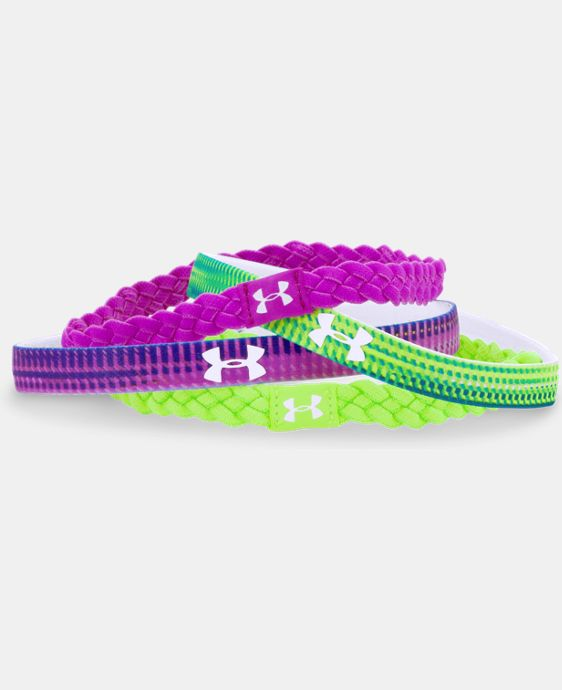 Girls' UA Graphic Elastic Headbands LIMITED TIME: FREE U.S. SHIPPING  $19.99
