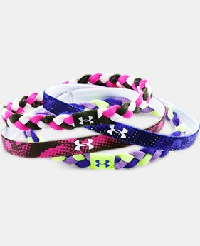 Girls' UA Graphic Elastic Headbands  1 Color $14.99