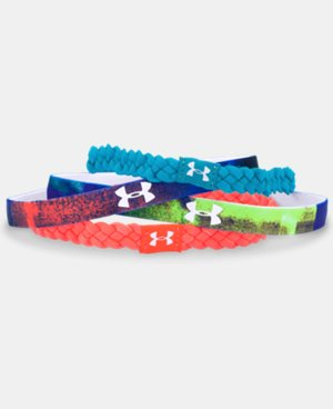 Girls' UA Graphic Elastic Headbands LIMITED TIME: FREE U.S. SHIPPING 2 Colors $19.99