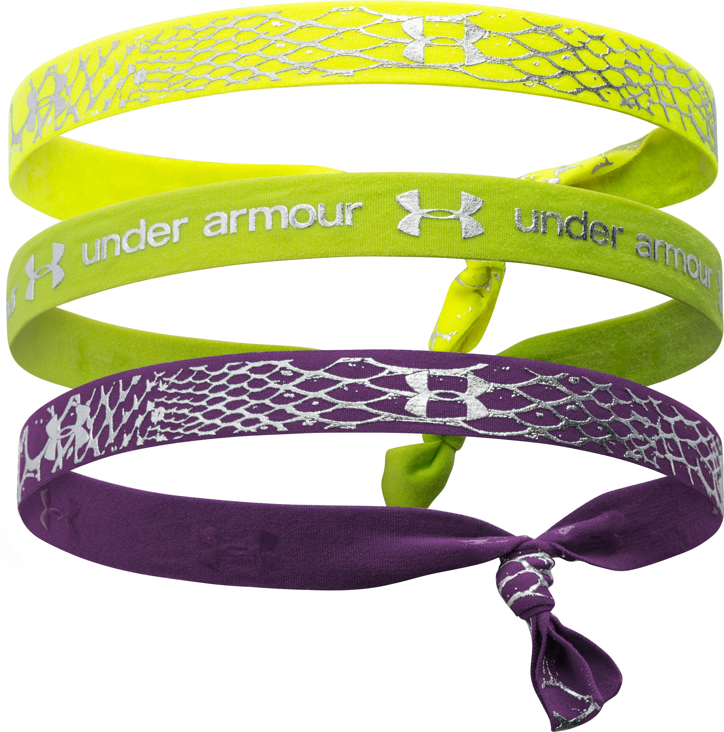Girls' UA Shimmer Headbands, Velocity, undefined