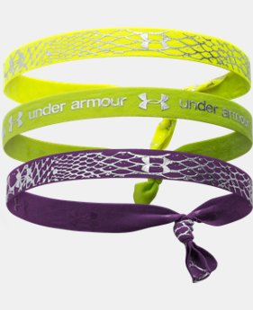 Girls' UA Shimmer Headbands  1 Color $11.99