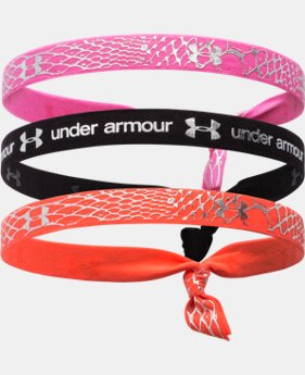 Girls' UA Shimmer Headbands   $11.99