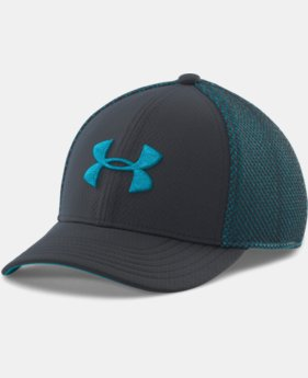 Boys' UA Classic Mesh Stretch Fit Cap