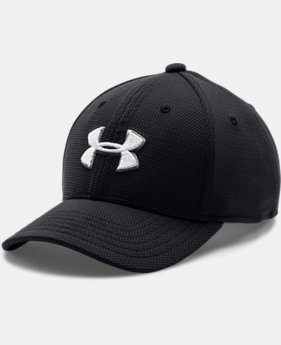 Boys' UA Blitzing II Stretch Fit Cap  3  Colors Available $17.99