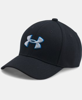 New Arrival Boys' UA Blitzing II Stretch Fit Cap  1 Color $11.99 to $13.49