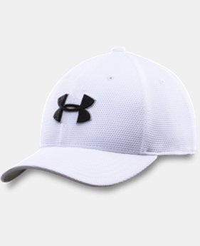 New Arrival  Boys' UA Blitzing II Stretch Fit Cap LIMITED TIME: FREE SHIPPING 1 Color $20.99