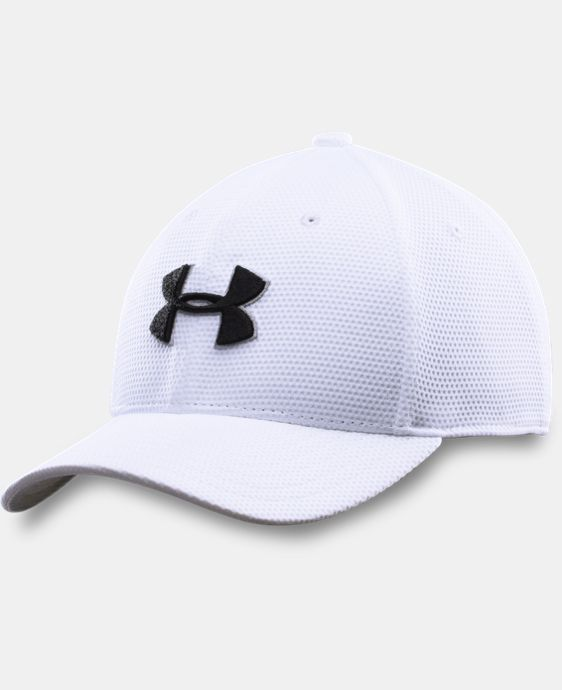New Arrival  Boys' UA Blitzing II Stretch Fit Cap  4 Colors $20.99