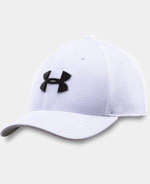 New Arrival  Boys' UA Blitzing II Stretch Fit Cap LIMITED TIME: FREE SHIPPING  $20.99