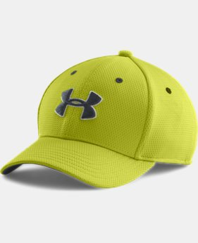Boys' UA Blitzing II Stretch Fit Cap