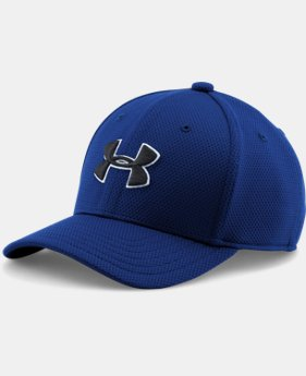 Best Seller Boys' UA Blitzing II Stretch Fit Cap LIMITED TIME: FREE U.S. SHIPPING 2 Colors $17.99