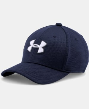 Best Seller Boys' UA Blitzing II Stretch Fit Cap LIMITED TIME: FREE U.S. SHIPPING 1 Color $17.99