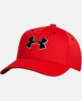 New Arrival Boys' UA Blitzing II Stretch Fit Cap  6 Colors $11.99 to $13.49