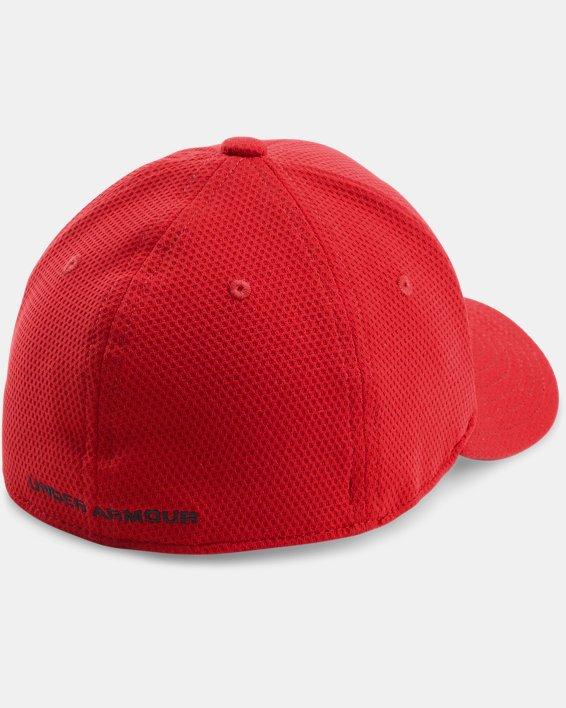 Boys' UA Blitzing II Stretch Fit Cap, Red, pdpMainDesktop image number 2