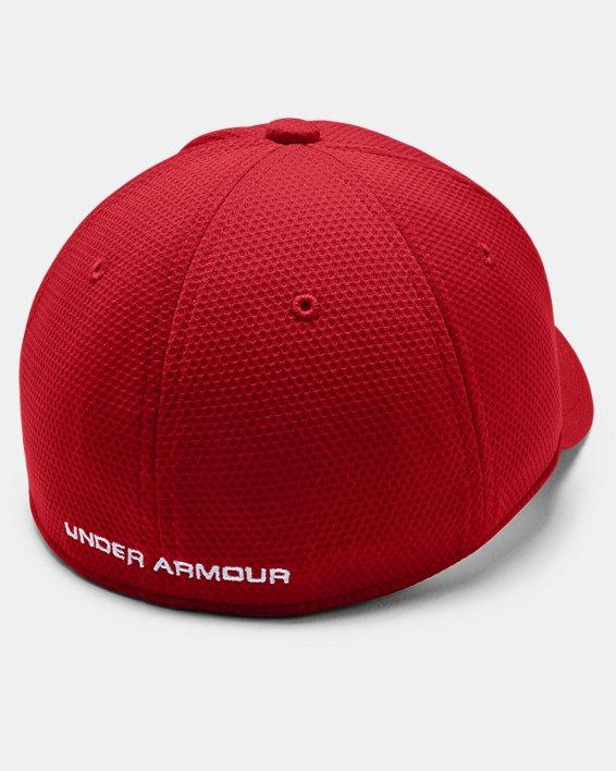 Boys' UA Blitzing II Stretch Fit Cap, Red, pdpMainDesktop image number 1