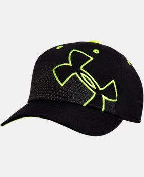 Boy's UA Tiltin' Low Crown Stretch Fit Cap