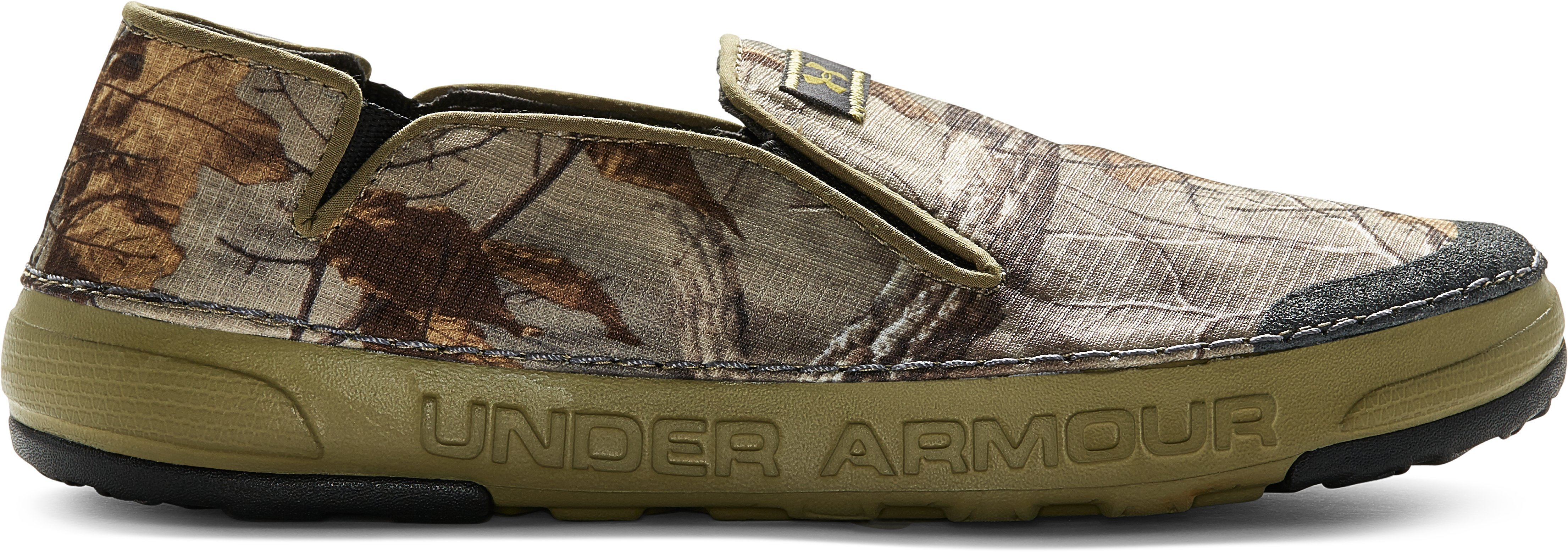 Men's UA Spike Camp Shoes, REALTREE AP-XTRA